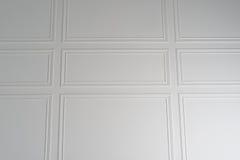 Fond blanc de texture de mur avec des frontières Images stock