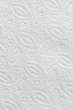 Fond blanc de texture de papier de serviette Image stock