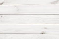 Fond blanc de texture de planche en bois Photo stock