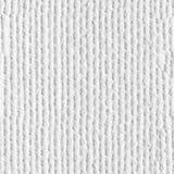Fond blanc de toile Texture carrée sans joint Tuile prête images stock