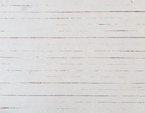 Fond blanc en bois Images libres de droits