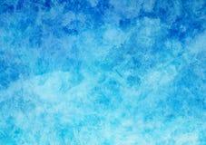 Fond blanc et bleu de texture de papier parcheminé Photo libre de droits