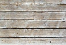 Fond blanc grunge de cru de bois normal Image libre de droits