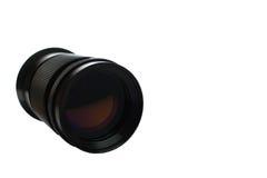 Fond blanc isolé par lentille de photo Photo stock