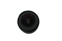 Fond blanc isolé par lentille de photo Image libre de droits