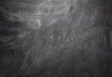Fond blanc noir de tableau Photographie stock