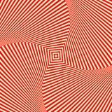 Fond blanc rouge de vortex d'abrégé sur remous Papier peint psychédélique illustration de vecteur