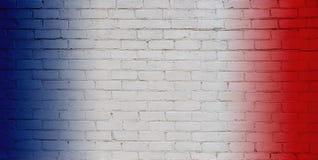 Fond blanc, rouge et bleu abstrait Photo stock