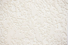 Fond blanc texturisé de texture de plâtre Images libres de droits