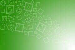 Fond blanc vert Illustration Libre de Droits