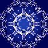 Fond bleuâtre illustration de vecteur