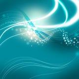 Fond bleu Photographie stock libre de droits