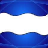 Fond bleu abstrait élégant Photo libre de droits