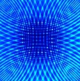 Fond bleu abstrait Photographie stock libre de droits