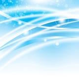 Fond bleu abstrait Photo libre de droits