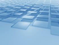 Fond bleu abstrait illustration de vecteur