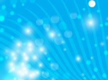 Fond bleu abstrait Image stock