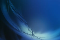 Fond bleu abstrait Photo stock