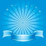 Fond bleu abstrait Photos stock