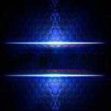 Fond bleu abstrait d'hexagones avec l'espace des textes illustration libre de droits