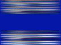 Fond bleu abstrait dans les rayures horizontales Images libres de droits