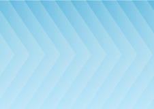 Fond bleu abstrait de flèches illustration libre de droits