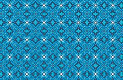 fond bleu abstrait de modèle Photographie stock libre de droits