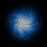 Fond bleu abstrait de mosaïque Photo stock