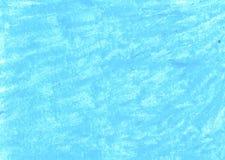 Fond bleu abstrait de pastel d'huile image libre de droits