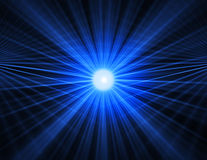 Fond bleu abstrait de technologie Photo libre de droits