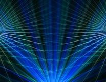 Fond bleu abstrait de technologie Photo stock