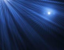 Fond bleu abstrait de technologie Image libre de droits
