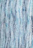 Fond bleu abstrait de textile. Images libres de droits