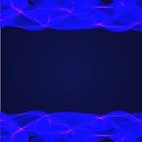 Fond bleu abstrait de vecteur Image stock