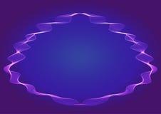 Fond bleu abstrait de vecteur Images stock
