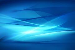 Fond bleu abstrait, texture d'onde Images stock
