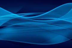 Fond bleu abstrait, texture de voile Image libre de droits