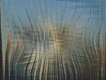 Fond bleu avec les rayures abstraites Images libres de droits