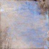 Fond bleu-brun de cru Images libres de droits