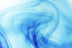 Fond bleu circulant Photos libres de droits
