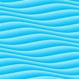Fond bleu-clair abstrait de vague Texture sans couture d'ondulation illustration libre de droits