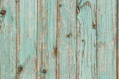 Fond bleu-clair de conseils en bois Photographie stock libre de droits