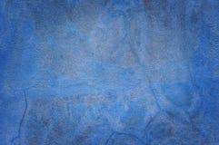 Fond bleu décoratif de mur de stuc de beau grunge de résumé photos stock