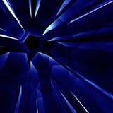 Fond bleu d'éclat d'abstarct Photographie stock libre de droits