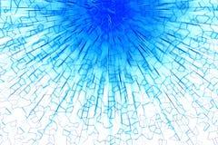 Fond bleu d'abrégé sur souffle Photos libres de droits