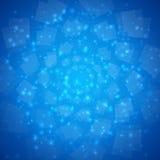 Fond bleu d'abrégé sur vecteur Images stock