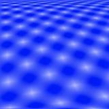 Fond bleu d'abrégé sur réseau Images stock