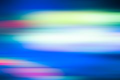 Fond bleu d'abrégé sur tache floue de mouvement Image libre de droits