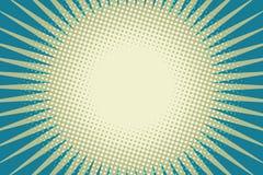 Fond bleu d'art de bruit du soleil Photo stock