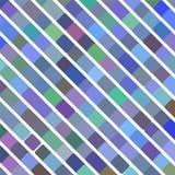 Fond bleu d'art de bruit rétro, illustration de vecteur Photos libres de droits